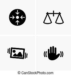 símbolos, estabilización