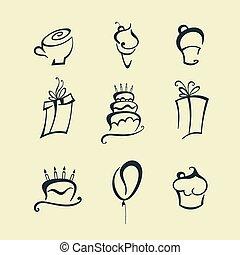 símbolos, feriado