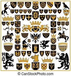 símbolos, heráldica, cristas