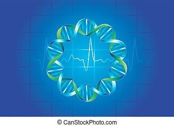 símbolos, ilustração médica