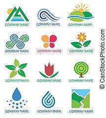 símbolos, logotipos, paisagem natureza
