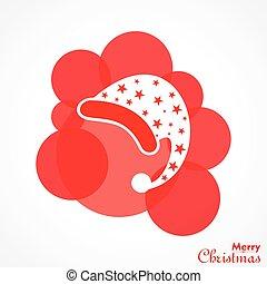 símbolos, natal, saudação