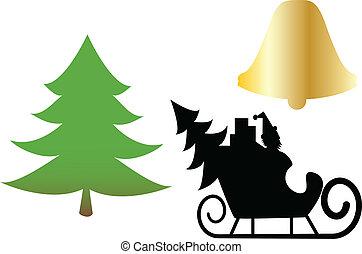 símbolos, natal