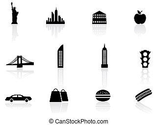 símbolos, nueva york