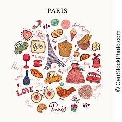 símbolos, paris