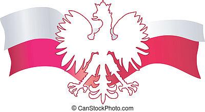 símbolos, polônia