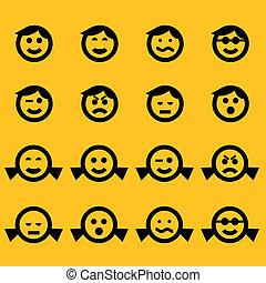 símbolos, smiley