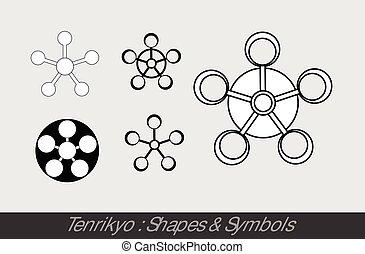 símbolos, tenrikyo