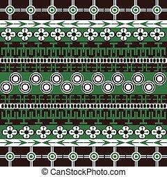 símbolos, tradicional, ornamentos, textura