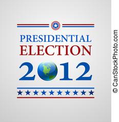 símbolos, votando