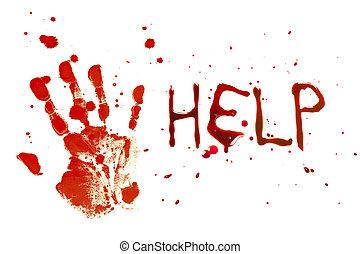 sír, segítség