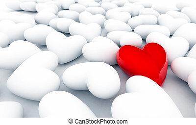 só, coração