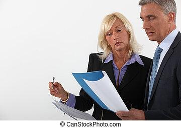 sócios negócio, revisar, contrato