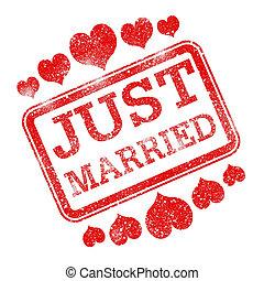 sólo, casar, casado, ternura, medios, devoción