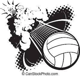 sónico, auge, voleibol