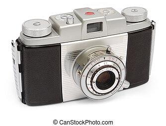 sökare, kamera, retro