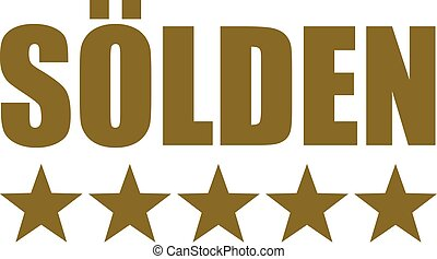 Sölden with five stars