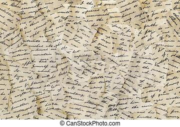 sönderrivet, breven