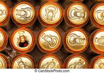 sör, konzervál