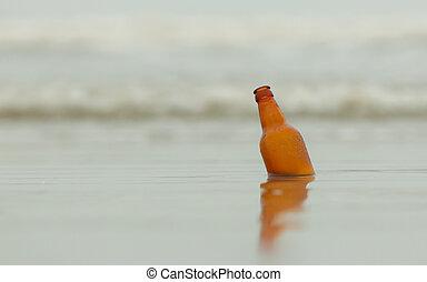 sör, tengerpart