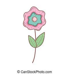 söt, blomma, det leafs