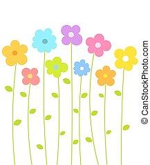 söt, blomningen