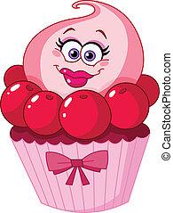 söt, cupcake