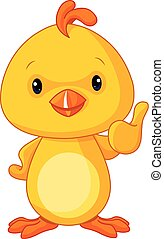 söt, gul, baby ynkrygg