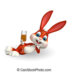 söt, påsk kanin