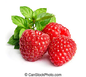 sød, hindbær