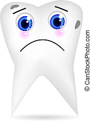 sørgelige, tand