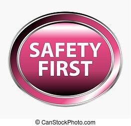 sûreté abord, bouton