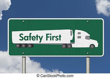 sûreté abord, signe