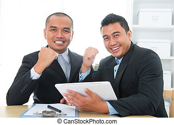 südosten, leistung, businessteam