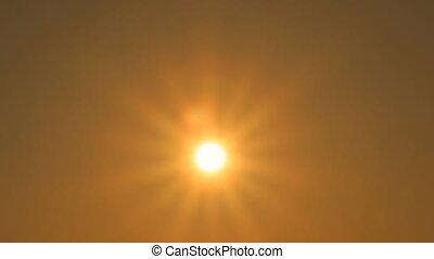 słońce, haczyki, ręka