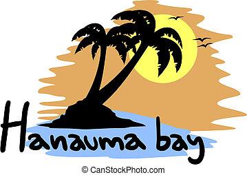 słońce, hanauma zatoka