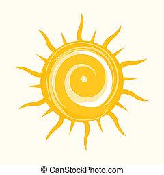 słońce, ikona