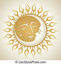 słońce, księżyc