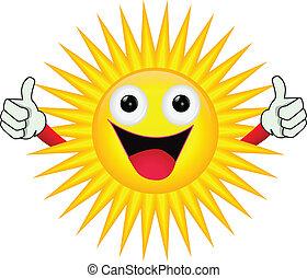 słońce, litera