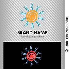 słońce, logo