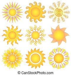 słońce wystawiają