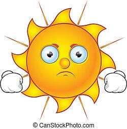 słońce, zrzędny, -, litera