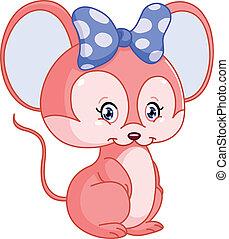 słodki, mysz
