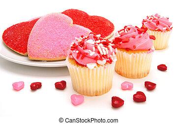 słodycze, valentines dzień