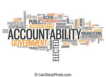 "słowo, chmura, ""accountability"""