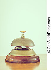 służba dzwon, rocznik wina, hotel, -, filtr, przyjęcie