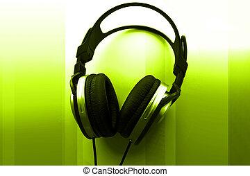 słuchawki, didżej