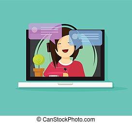 Spotkanie online na odległość
