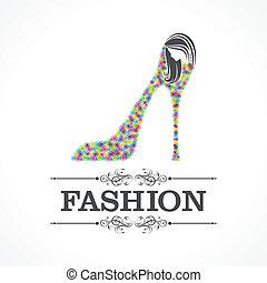 s, ファッション, 靴, 美しさ, アイコン