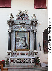 s., altar, dominic